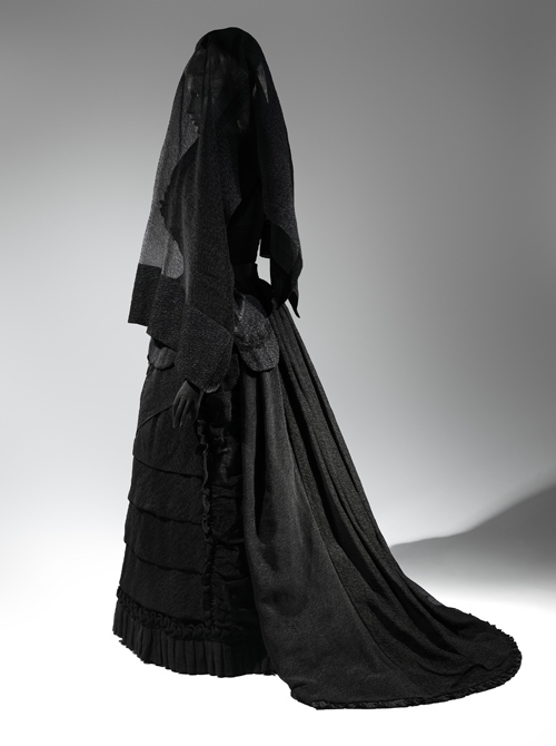 1. Mourning Ensemble, 1870-1872