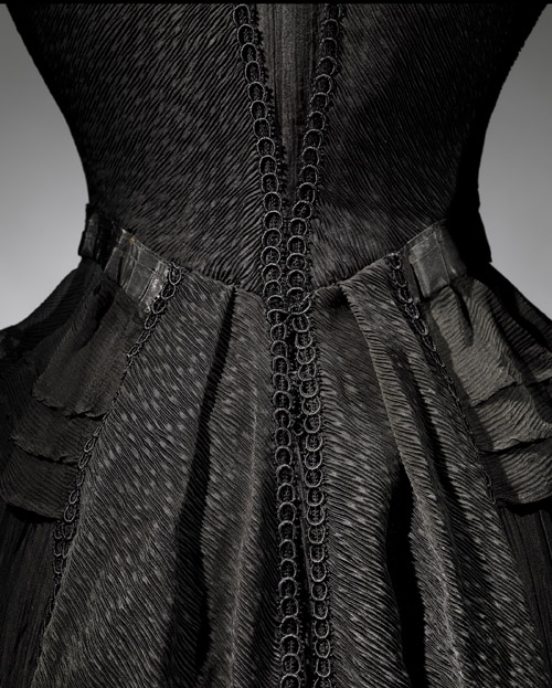 4. Mourning Dress Detail, 1902-1904