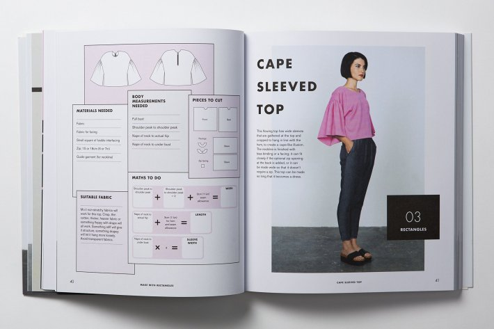 Cape Sleeve Top spread